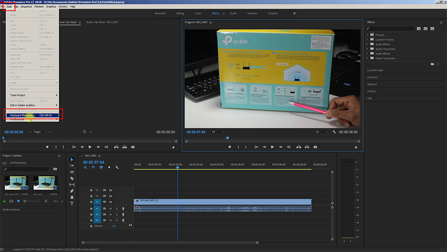 วิธี Preview Full Screen ใน Premiere Pro – Eak Samwa นานาจิตตัง